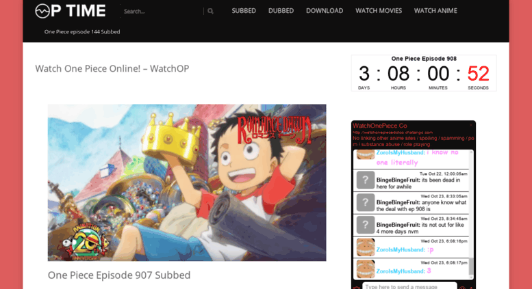 background - Watch One Piece Episode English Dubbed