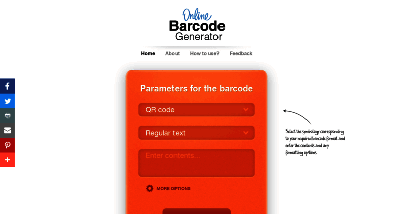 Access online-barcode-generator net  Free Online Barcode