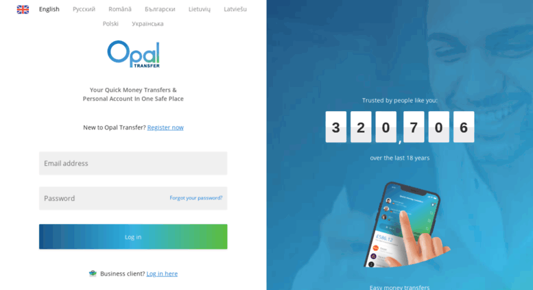Access Online Opaltransfer Opal Transfer Send Money Fast And Safe