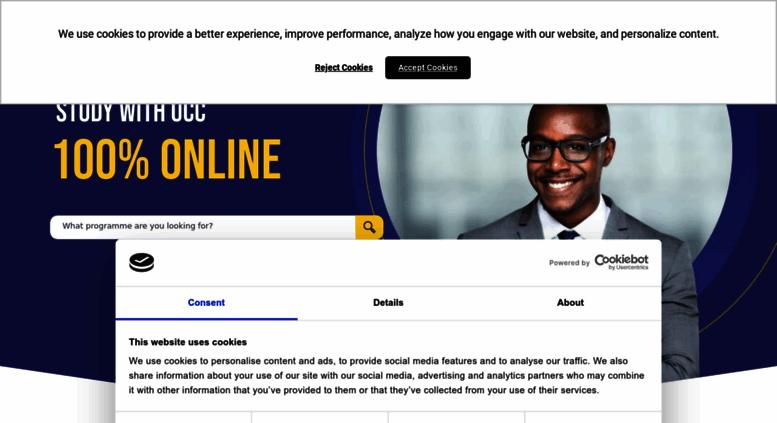 Online Ucc Edu Jm Screenshot