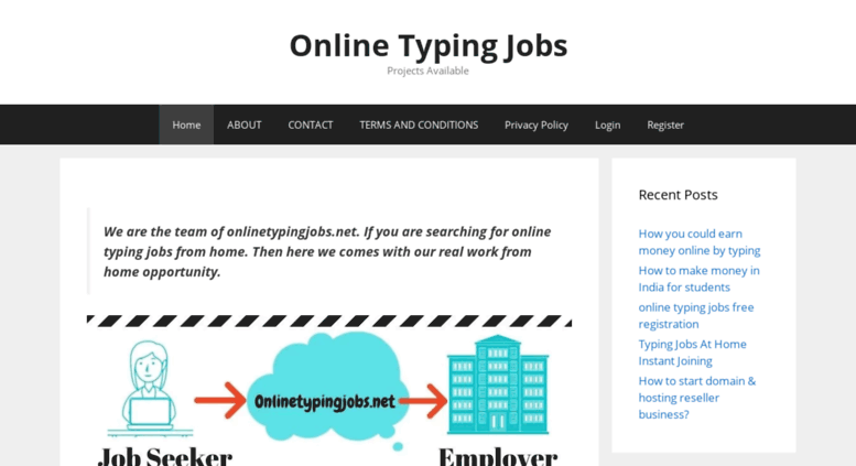 Access onlinetypingjobs net  Online Captcha Typing Jobs