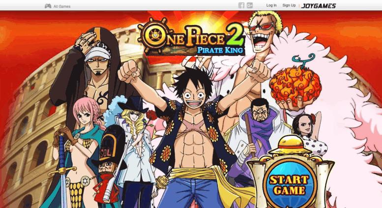 6ccaa27ec Access op2.joygames.me. One Piece Online 2  Pirate King - Anime Game ...