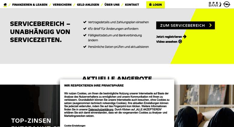 Opel Bank Kontakt