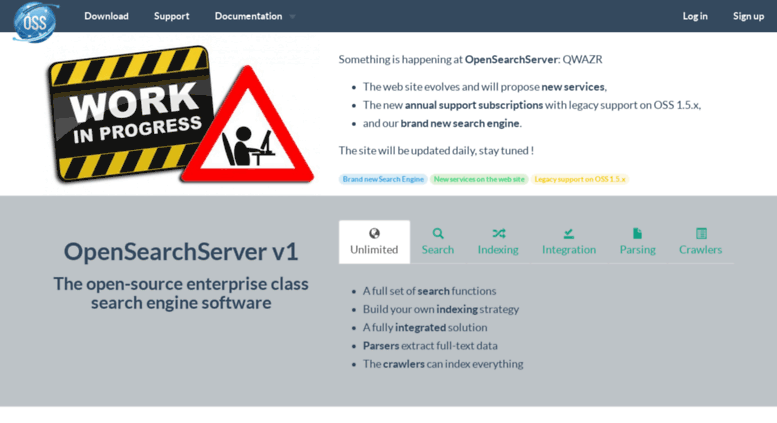 Access open-search-server com  OpenSearchServer | Open Source Search