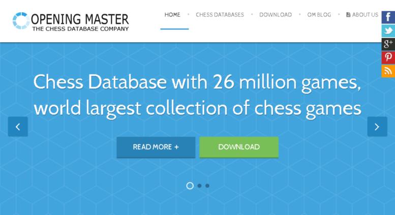 Access openingmaster com  Chess Database - Opening Master