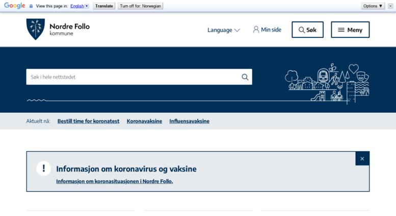Access Oppegard Kommune No Nordre Follo Kommune