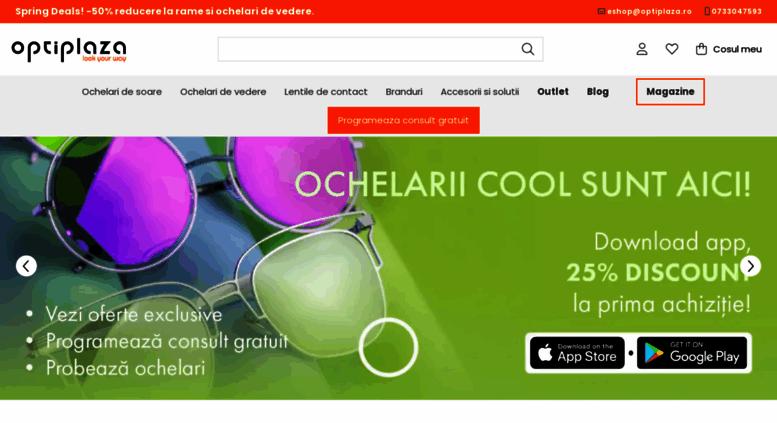 vânzare Marea Britanie destul de la moda magazin online Access optiplaza.ro. Ochelari de soare, ochelari de vedere ...