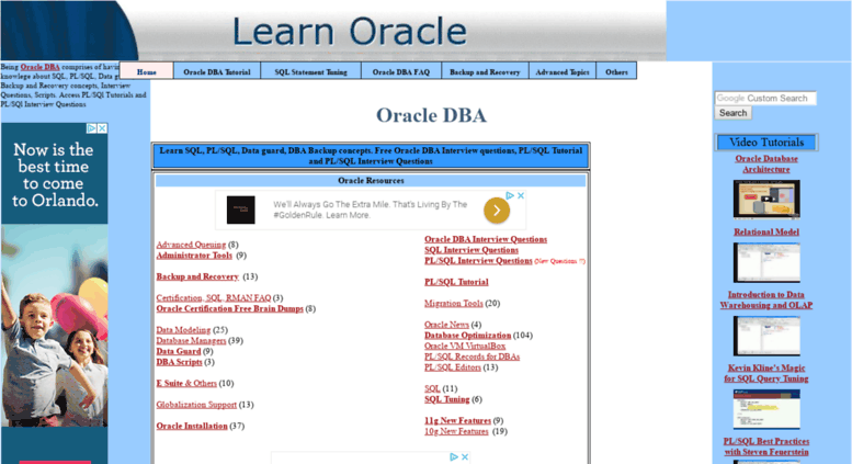 Oracle Dba Tutorial Pdf For Beginners