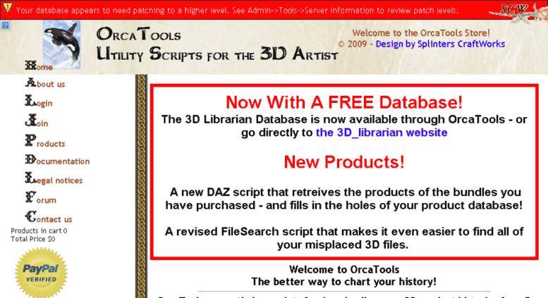 Access orcatools com  OrcaTools, Utility Scripts for the 3D