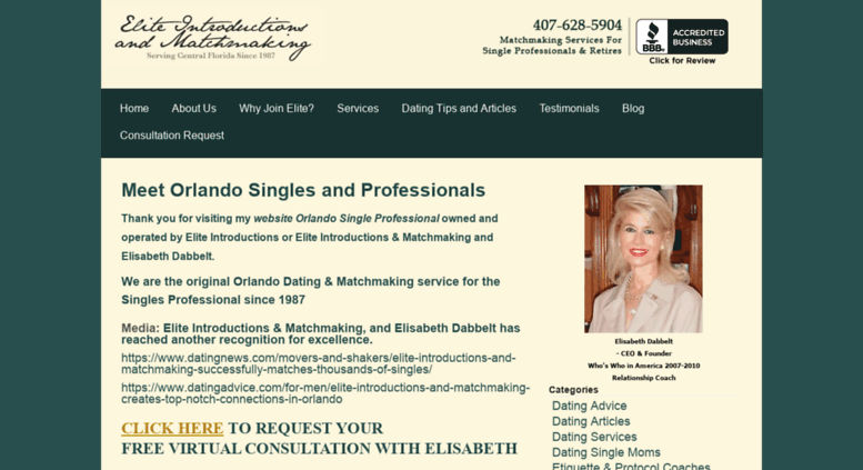 Single dating services