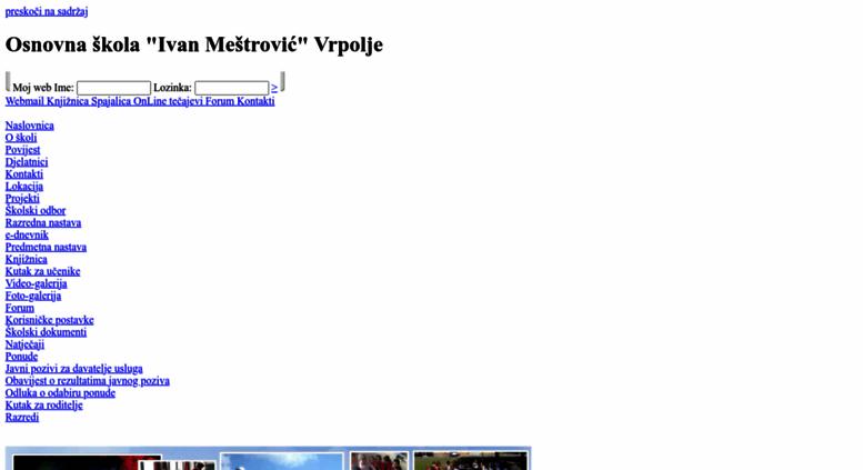 Access Os Imestrovic Vrpolje Skole Hr Osnovna Skola Ivan