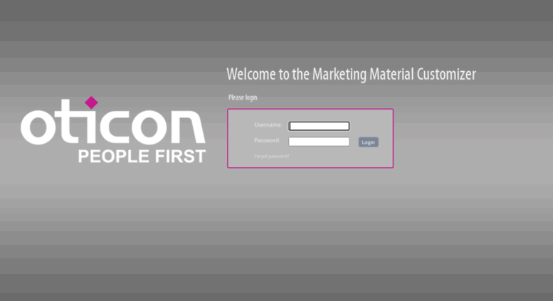 Access oticon frontlab com  Welcome to Frontlab
