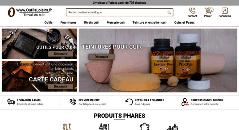 Access outilsloisirs.fr. Outillage cuir, outils pour le travail du ... 9e0949a7bd5
