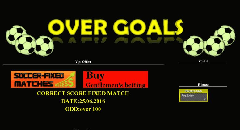 Access overgoals sportal tips  Overgoals 1x2 Soccer bettong tips 1x2