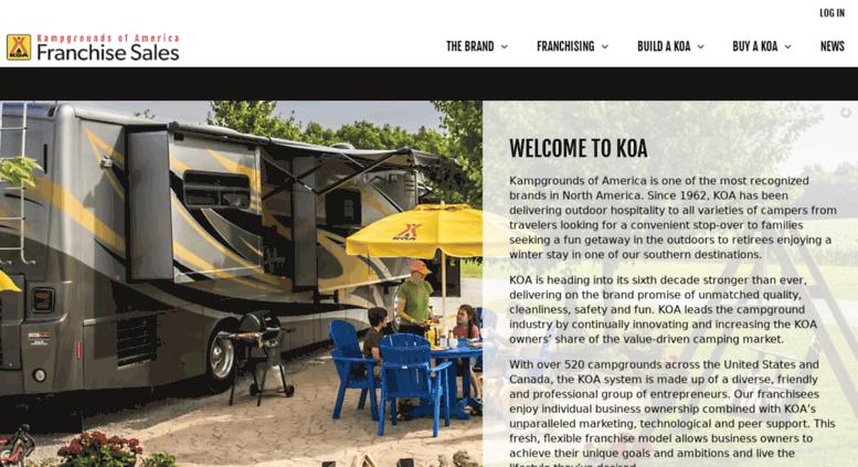Access ownakoa com  Campgrounds & RV Parks For Sale - Become a KOA