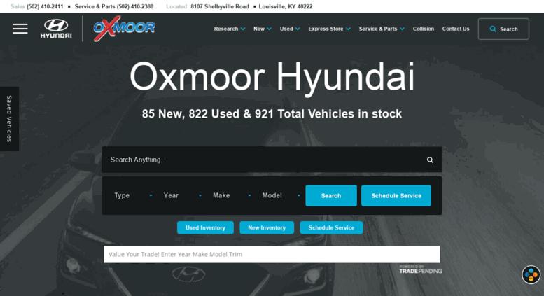 Used Car Dealerships In Louisville Ky >> Access Oxmoorhyundai Com Oxmoor Hyundai New Used Car