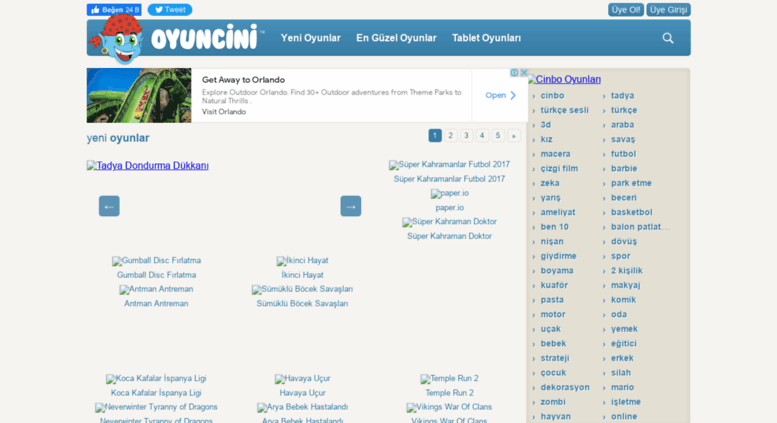 Access Oyuncini Com Oyun Cini Ucretsiz Oyunlar Sunan Sosyal