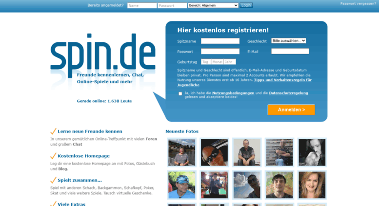 Spin De Die Community Login