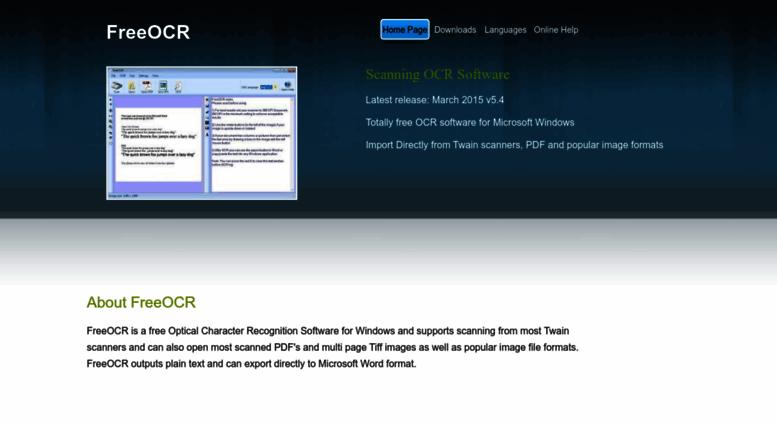 Download free ocr software software: ocr free, mediaprosoft free.