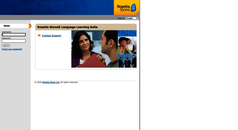 Access partner-totale rosettastoneenterprise com  Rosetta