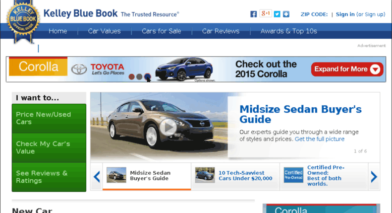 Check My Car Value >> Access Partnertest Kbb Com Official Kelley Blue Book New