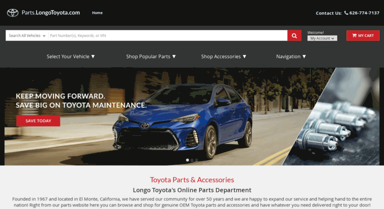 access parts.joemyerstoyota. joe myers toyota parts | genuine