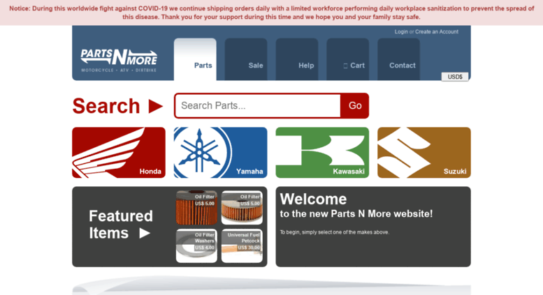 Access partsnmore com  Parts N More - Japanese Vintage