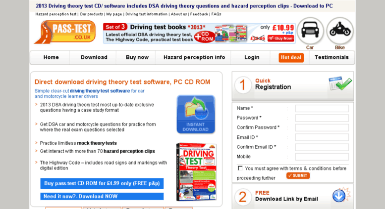 Access pass-test. Co. Uk. Driving theory test software free download.