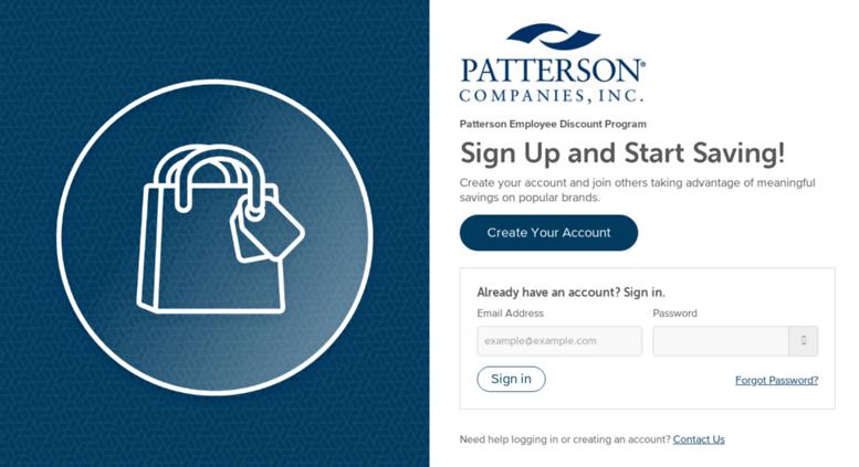 Access Pattersoncompaniesperkspotcom Login Patterson Employee
