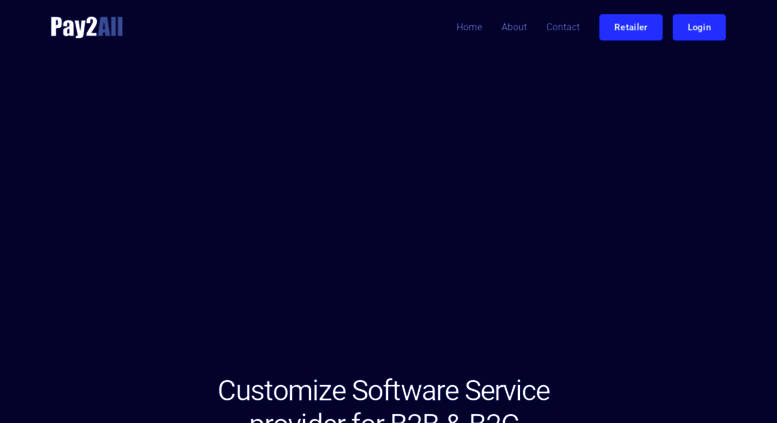 Access pay2all in  All Payment Solution Portal, Mobile Recharge Api