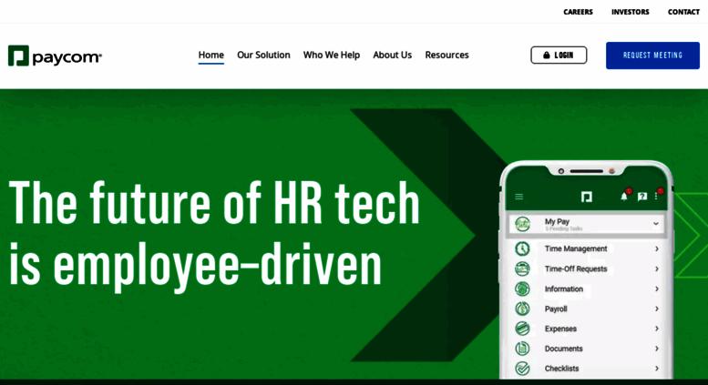 Access paycom com  Online Payroll Services | HR Payroll Software