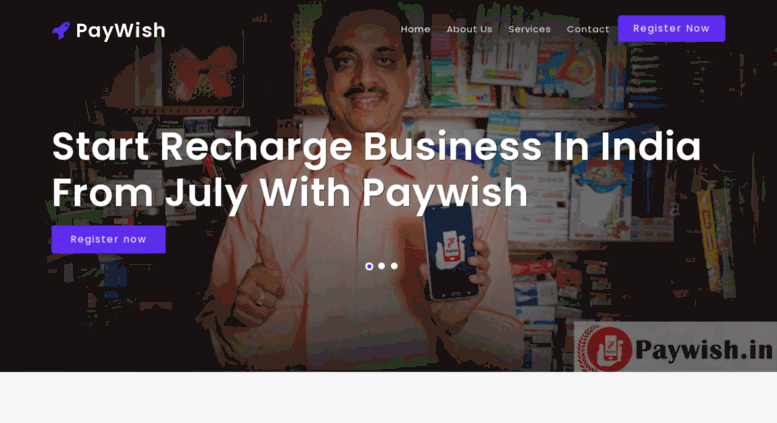 Access paywish in  Recharge Business with Paywish India :: Start