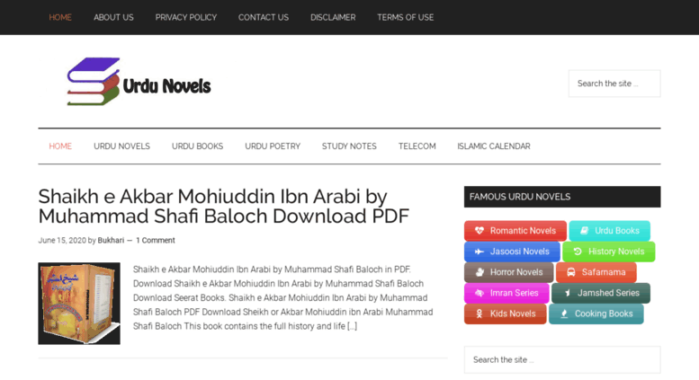 Books Pdf Novels In Urdu