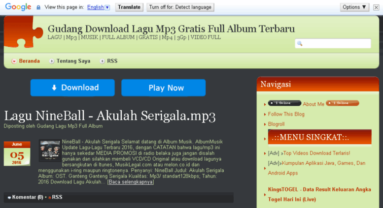 Mp3cilok: stafaband tempat download lagu gratis dan terlengkap.