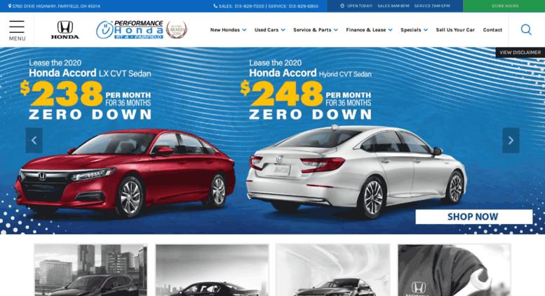 Honda Dealers Cincinnati >> Access Performancehondastore Com Honda Dealer Serving Cincinnati
