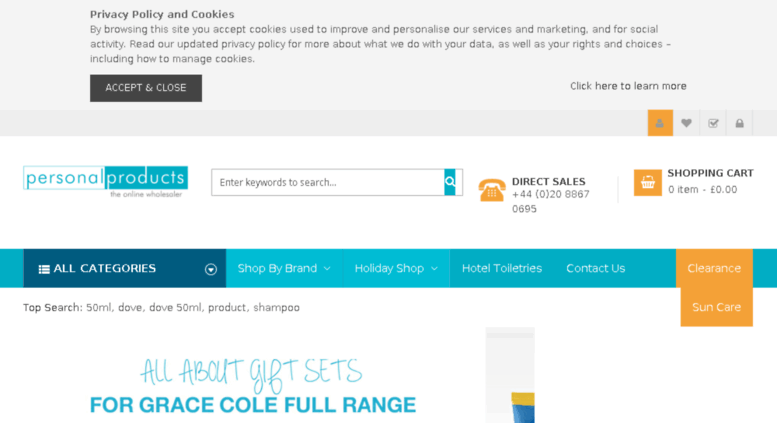 Access personalproducts4u co uk  Wholesale Travel & Hotel Toiletries