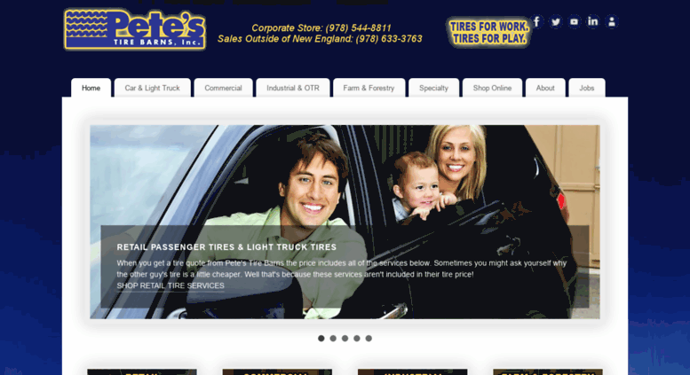 Access Petestire Com Tire Sales And Service In New England Petes