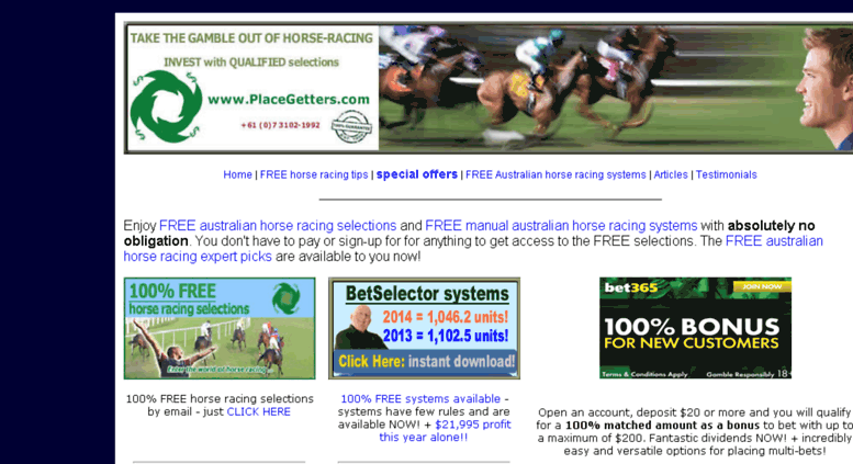 Access pgfreebeez com  Horse racing selections | Horse