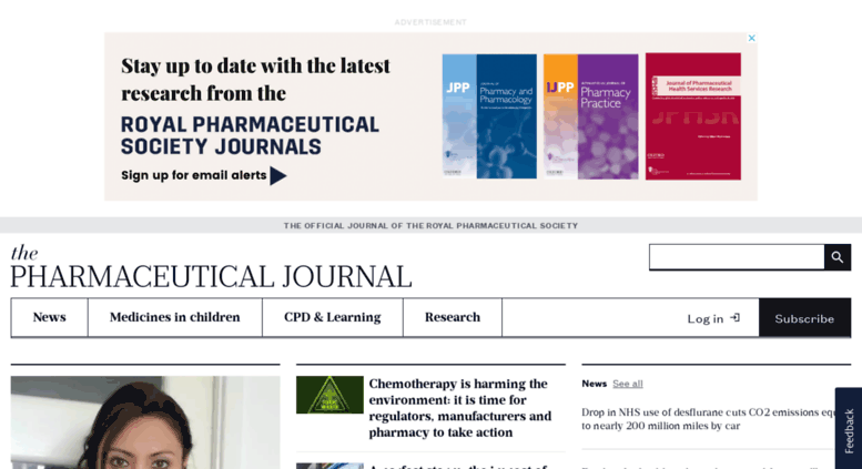 Access pharmj com  The Pharmaceutical Journal news