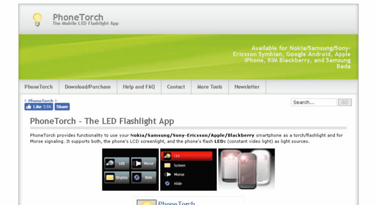Download flashlight app for symbian | Download torch apps
