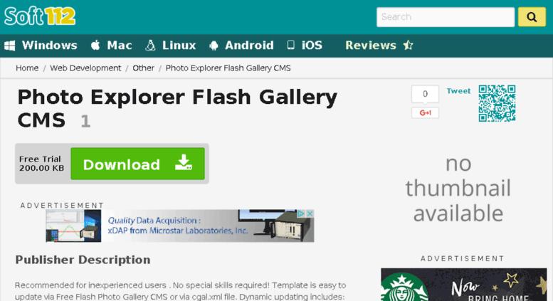 Access photo-explorer-flash-gallery-cms soft112 com  Photo