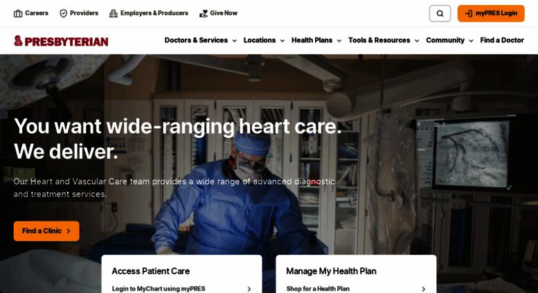 Phs Org Screenshot