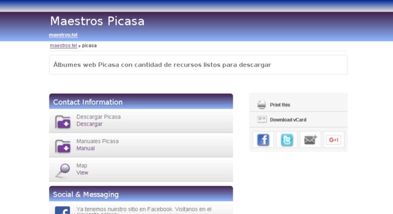 Access picasa: