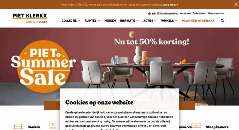 Piet Klerkx Website : Access pietklerkx piet klerkx grootste woonbeleving van
