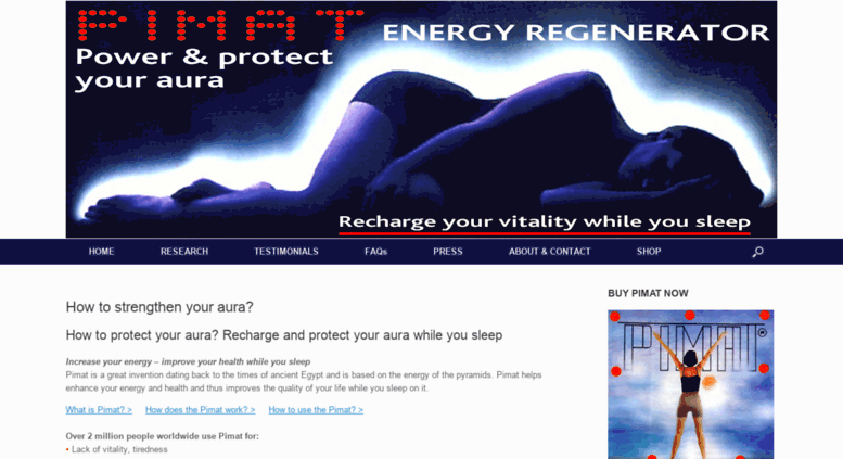 Access pimat co uk  How to strengthen your aura? How to