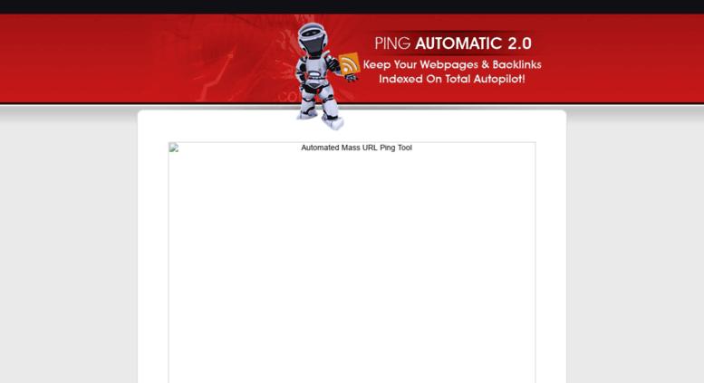 Access pingautomatic com  Mass Auto-Pinger Tool Gets 379