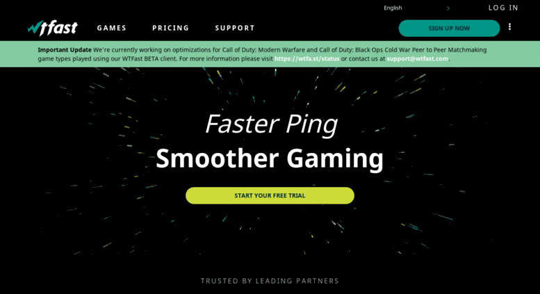 Access pingcraft com  WTFast – Lower Ping, Reduce Lag, and Run Ping