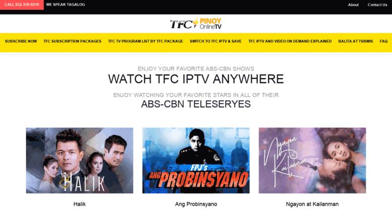 Access pinoyonlinetv com  TFC IPTV Set Top Box USA - The Filipino
