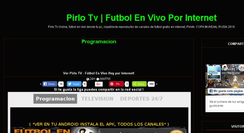 conseguir baratas super servicio pulcro Access pirlotvmas.blogspot.com. Pirlo Tv   Futbol En Vivo ...