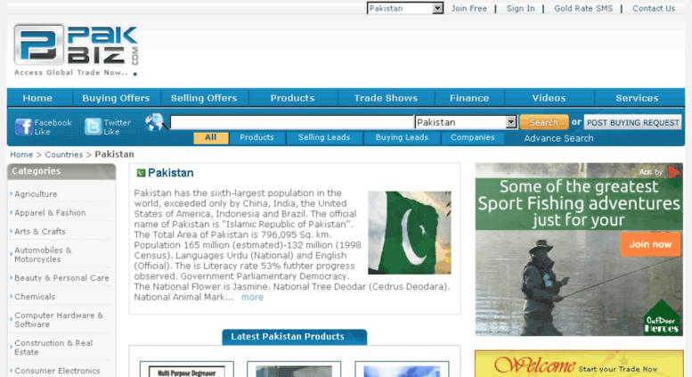 Access pk pakbiz com  B2B Marketplace Pakistan